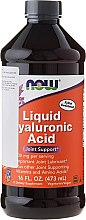 Profumi e cosmetici Acido ialuronico liquido - Now Foods Liquid Hyaluronic Acid