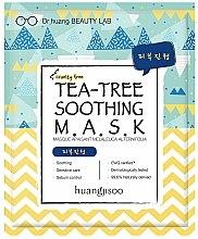 Profumi e cosmetici Maschera viso lenitiva in tessuto con estratto di albero di tè - Huangjisoo Tea-Tree Soothing Mask