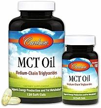 Profumi e cosmetici Set - Carlson Labs MCT Oil (gel/120szt + gel/30szt)