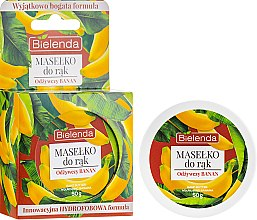Profumi e cosmetici Burro mani nutriente alla banana - Bielenda Hand Butter Nourishing Banana