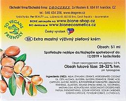 Crema viso nutriente con olio di argan - Bione Cosmetics Argan Oil Extra Greasy Nourishing Facial Cream — foto N3