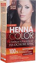 Profumi e cosmetici Tinta-crema con hennè per capelli - Fitocosmetica Henna Color