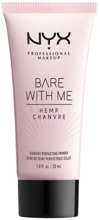 Primer viso - NYX Professional Makeup Bare With Me Hemp Radiant Perfecting Primer