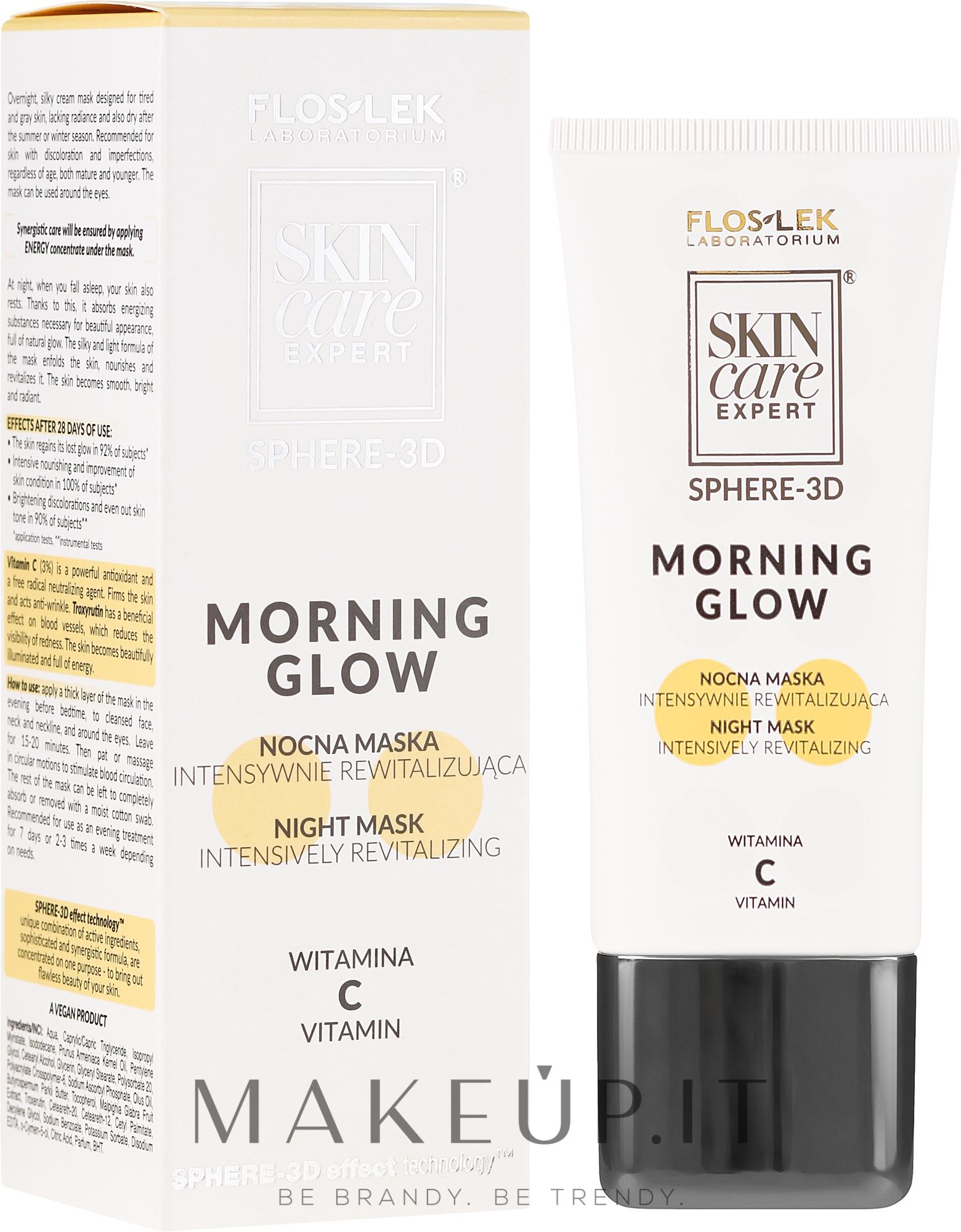 Maschera riparatrice - FlosLek Skin Care Expert Sphere-3D Morning Glow — foto 50 ml