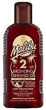 Profumi e cosmetici Olio abbronzante SPF 8 - Malibu Bronzing Tanning Oil SPF 2