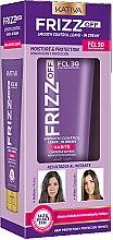 Profumi e cosmetici Crema con cheratina per capelli - Kativa Frizz Off Smooth Control Leave-In Cream Karite