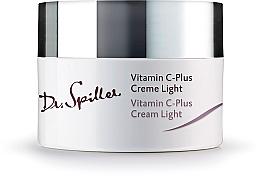 Profumi e cosmetici Crema viso leggera, da giorno - Dr. Spiller Vitamin C-Plus Cream Light
