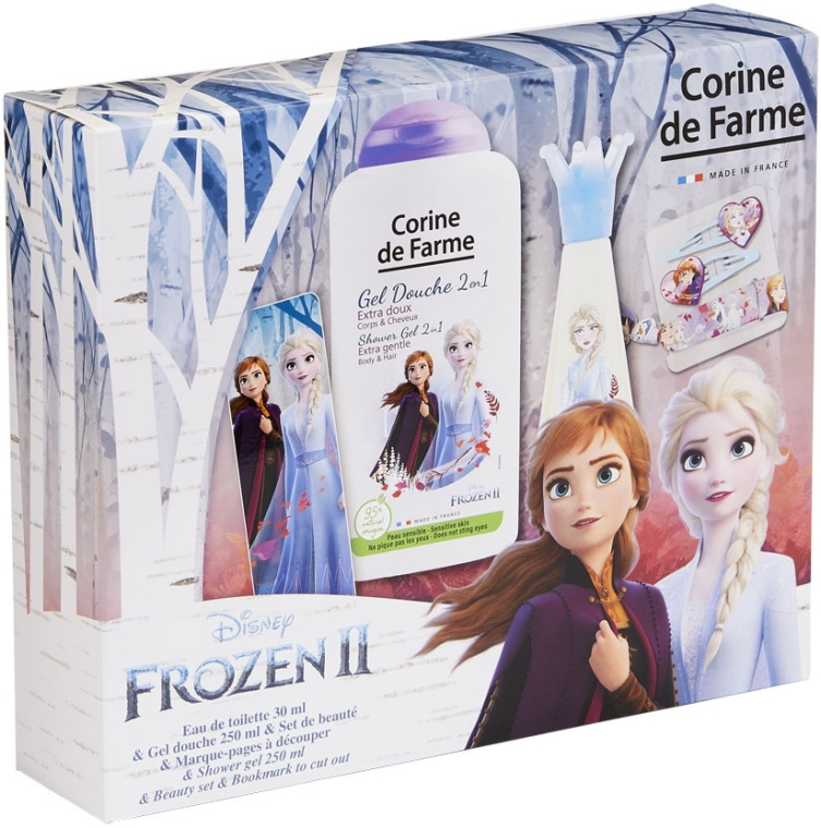 Corine De Farme Disney Frozen 2 - Set (edt/30ml + sh/gel/250ml + accessories)