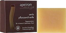 Profumi e cosmetici Sapone naturale rigenerante - Apeiron Amla Plant Oil Soap