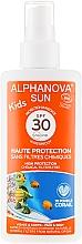 Profumi e cosmetici Spray solare per bambini - Alphanova Sun Kids SPF 30 UVA