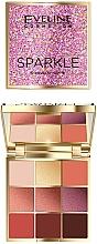 Profumi e cosmetici Palette ombretti - Eveline Cosmetics Sparkle