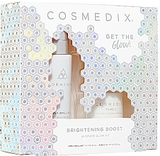 Profumi e cosmetici Set - Cosmedix Brightening Boost Ultimate Glow Kit (f/ser/30ml + f/powder/6g)