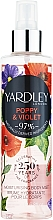 Profumi e cosmetici Yardley Poppy & Violet - Spray corpo