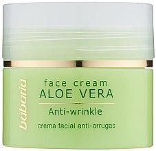 Profumi e cosmetici Crema viso all'aloe vera - Babaria Aloe Facial Wrinkle Cream