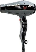 Profumi e cosmetici Asciugacapelli - Parlux Hair Dryer 3800 Ionic & Ceramic Black