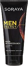 Profumi e cosmetici Pasta viso detergente - Soraya Men Energy