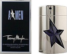 Profumi e cosmetici Mugler A Men The Refillable Metal Spray - Eau de toilette