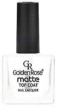 Profumi e cosmetici Smalto opaco - Golden Rose Matte Top Coat