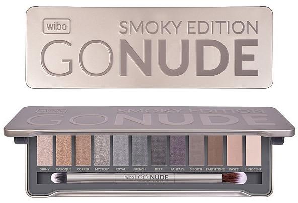 Paletta ombretti occhi - Wibo Go Nude Smoky Edition