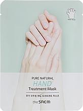 Profumi e cosmetici Maschera mani - The Saem Pure Natural Hand Treatment Mask