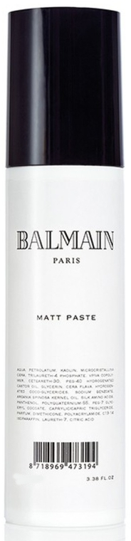 Pasta opacizzante per capelli - Balmain Paris Hair Couture Matt Paste