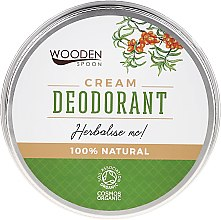 Profumi e cosmetici Deodorante-Crema - Wooden Spoon Herbalise Me Cream Deodorant