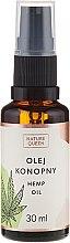 Profumi e cosmetici Olio cosmetico di semi di canapa - Nature Queen Hemp Oil