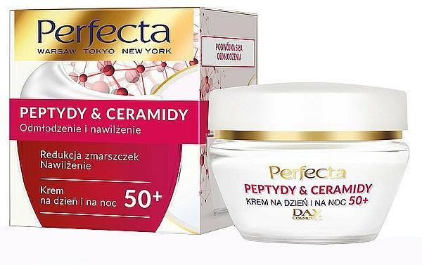Crema rivitalizzante 50+ - Perfecta Peptydy&Ceramidy