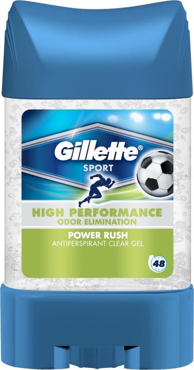 Antitraspirante gel - Gillette Power Rush Anti-Perspirant Gel for Men