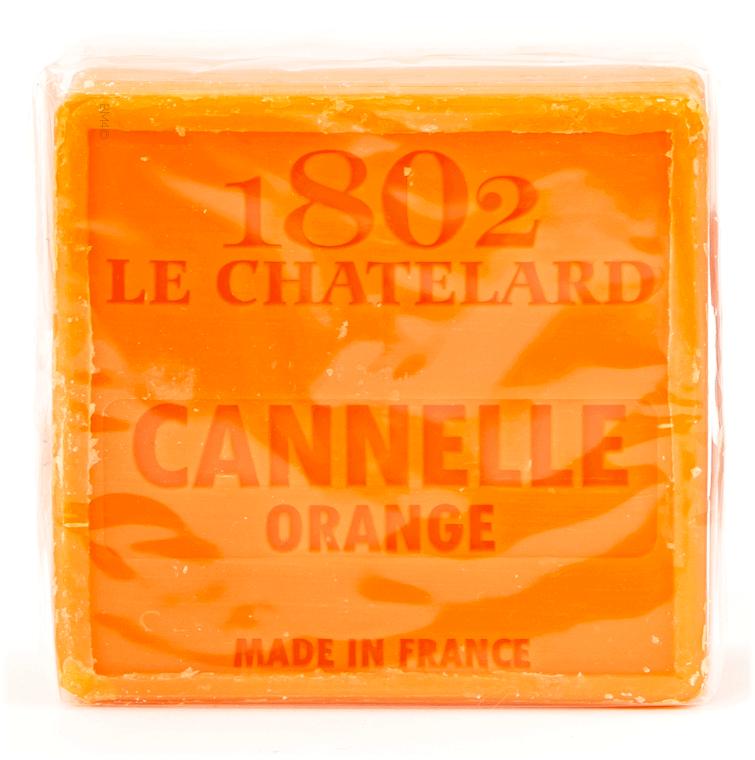 Sapone - Le Chatelard 1802 Soap Cinnamon Orange