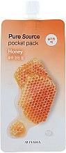 Profumi e cosmetici Maschera con estratto di miele, da notte - Missha Pure Source Pocket Pack Honey