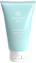 Profumi e cosmetici Peeling per piedi - Alessandro International Spa One Minute Pedicure Foot Scrub