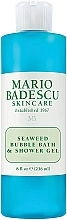 "Profumi e cosmetici Gel doccia ""Alghe marine"" - Mario Badescu Seaweed Bubble Bath & Shower Gel"