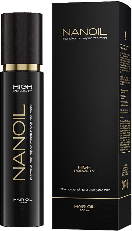 Olio per capelli ad alta porosità - Nanoil Hair Oil High Porosity