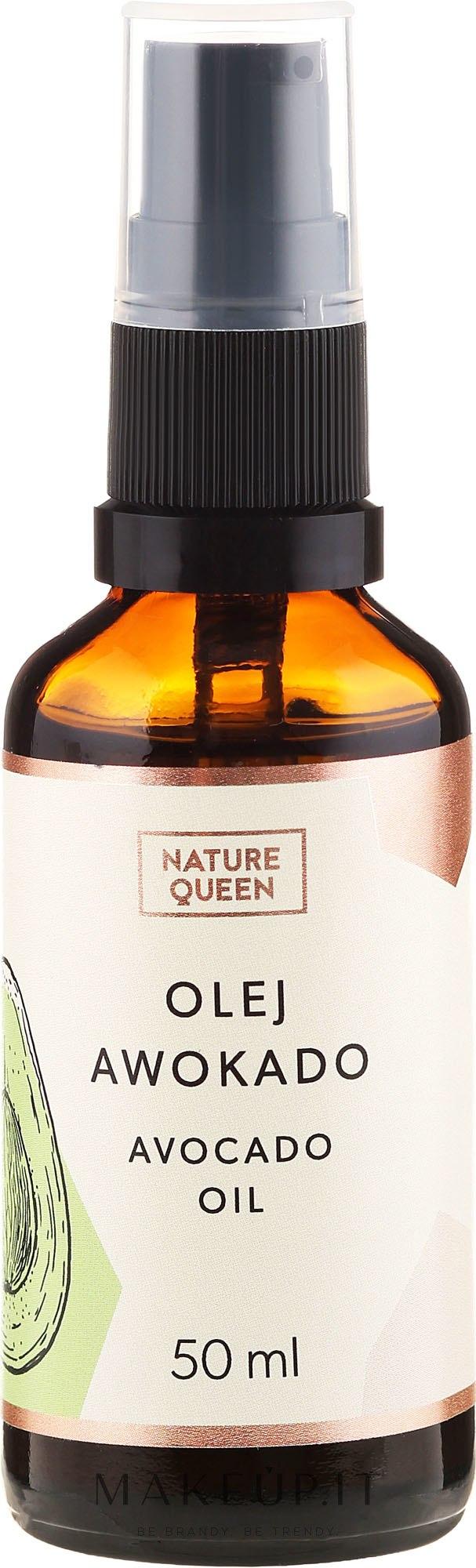 """Olio cosmetico """"Avocado"""" - Nature Queen Avocado Oil — foto 50 ml"""