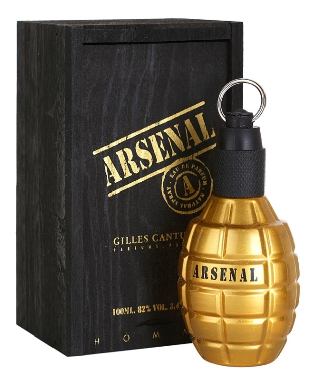Gilles Cantuel Arsenal Gold - Eau de Parfum — foto N2