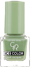 Profumi e cosmetici Smalto unghie - Golden Rose Ice Color Nail Lacquer
