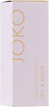 Profumi e cosmetici Illuminante liquido - Joko Joy & Glow Liquid Highlighter
