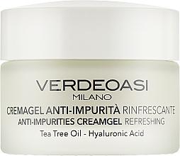 Profumi e cosmetici Crema-gel anti-impurità rinfrescante - Verdeoasi Anti-Impurities Creamgel Refreshing