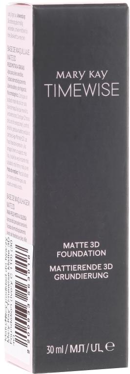 Fondontinta opaca - Mary Kay Timewise Matte 3D Foundation