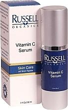 Profumi e cosmetici Siero viso alla vitamina C - Russell Organics Vitamin C Serum