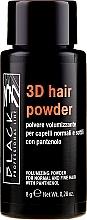 Profumi e cosmetici Polvere volumizzante per capelli - Black Professional Line 3D Hair Powder
