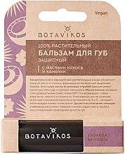 Profumi e cosmetici Balsamo protettivo per labbra, con oli di cocco e camelia - Botavikos Lip Balm