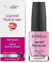 Profumi e cosmetici Siero rinforzante per unghie - Kinetics Mini Spa Grapeseed Nail Serum