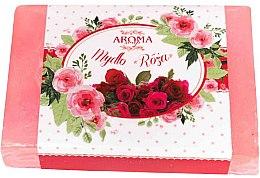 """Profumi e cosmetici Sapone """"Rose"""" - Delicate Organic Aroma Soap"""