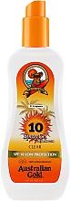 Profumi e cosmetici Spray-gel solare - Australian Gold SPF 10 Spray Gel
