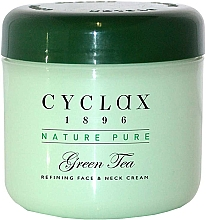 Profumi e cosmetici Crema viso e collo al tè verde - Cyclax Nature Pure Green Tea Face & Neck Cream