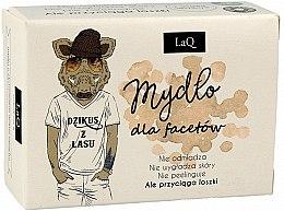Profumi e cosmetici Sapone al carbone attivo per uomo - LaQ Men Soap With Activated Carbon