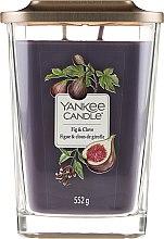 Candela profumata - Yankee Candle Elevation Fig & Clove — foto N1