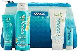 Profumi e cosmetici Set - Coola Classic Travel Kit(spray/60ml+f/cr/25ml+balm/4,2g+lotion/60ml)